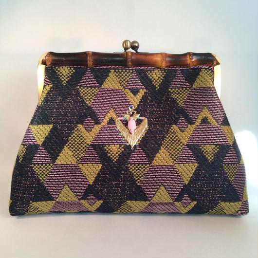 """MALHIA KENT"" Bamboo Clutch Bag"