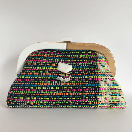 By Color Clutch Bag  / 2047