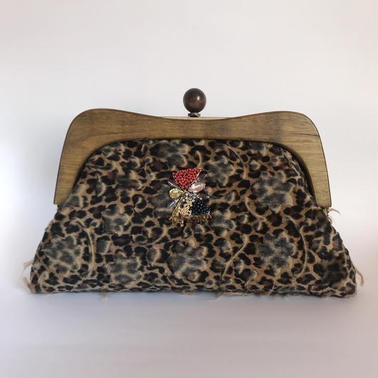 Wood Clutch Bag  / 2081