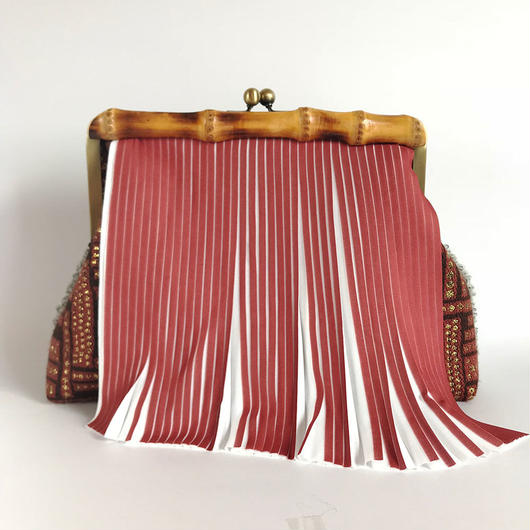 Bamboo Clutch Bag / 2053