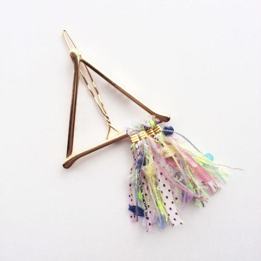 Pyramid Fringe Clip / 013104