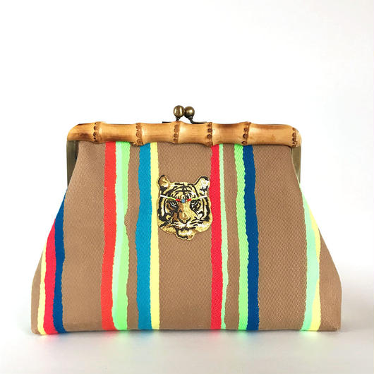 Bamboo Clutch Bag / 1754