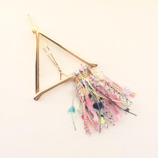 Pyramid Fringe Clip / 013126