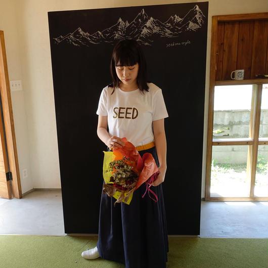 WHITE/KHAKI 15years anniversary T-shirts <予約販売>