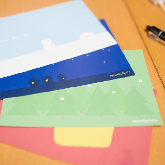 ?からはじまるポストカード(4枚セット)