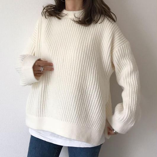 volume slit knit