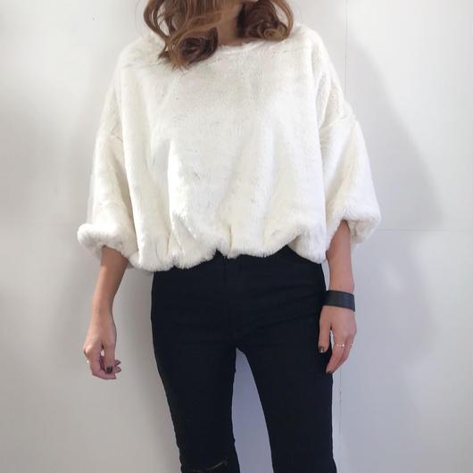 volume fur  tops