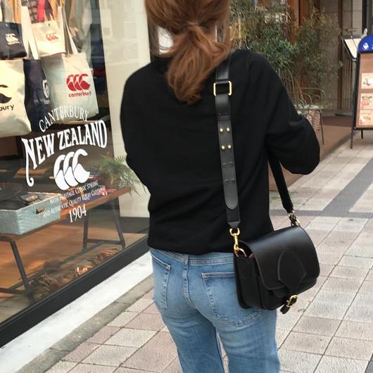 《再入荷》leather sholder bag