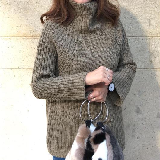 volume turtle  knit