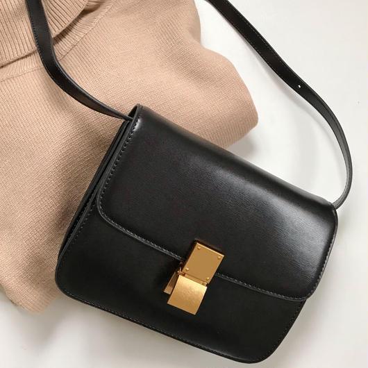 【送料込】leather Square bag