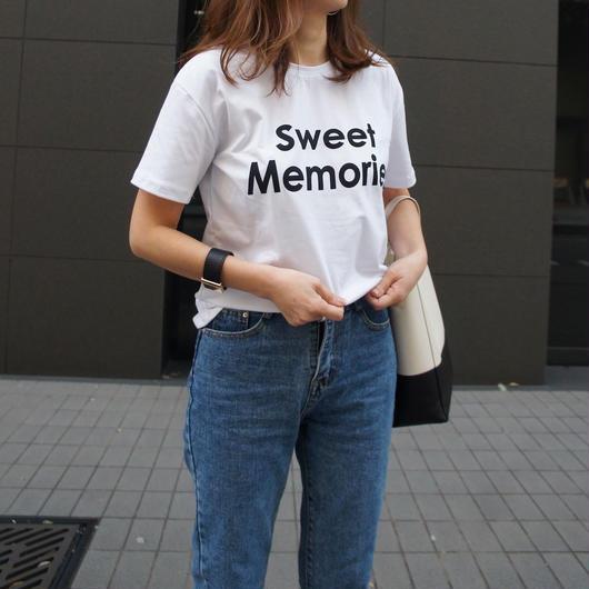 『sweet  memories』 T- shirt