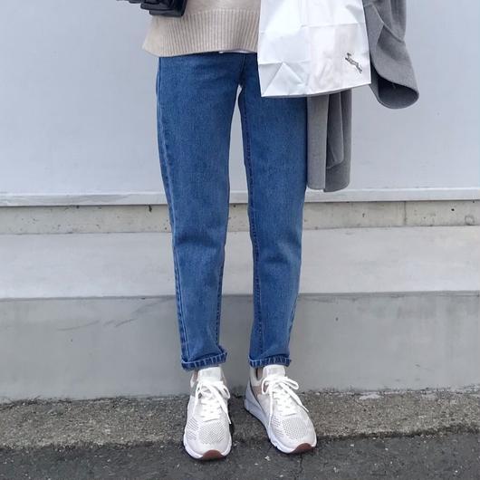 high waist mom jeans(blue)