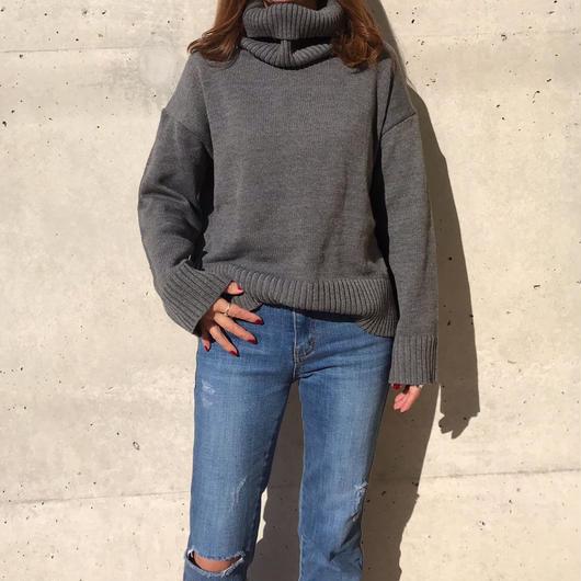 simple turtle knit