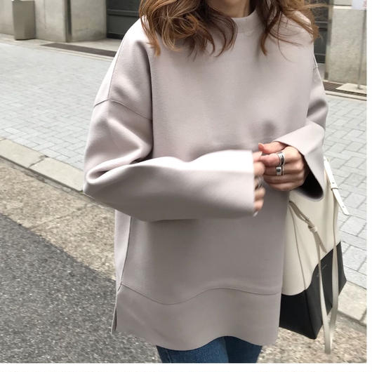 side  cut pull over
