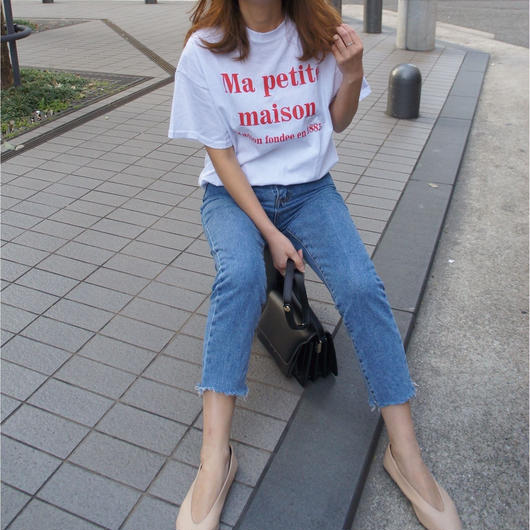 『Ma petit maison 』T- shirt