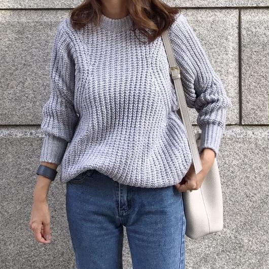 design sleeve knit