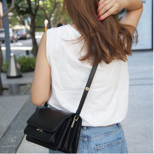 【ご予約受付】leather box bag