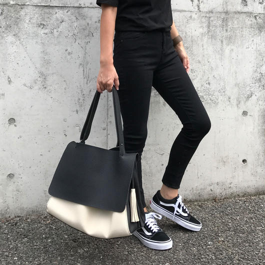 by color tote bag