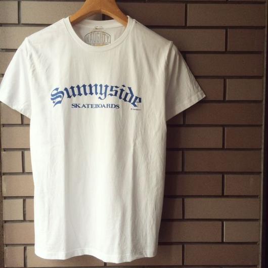 NAUGHTY 【SUNNYSIDE SKATEBORDS S/S TEE】