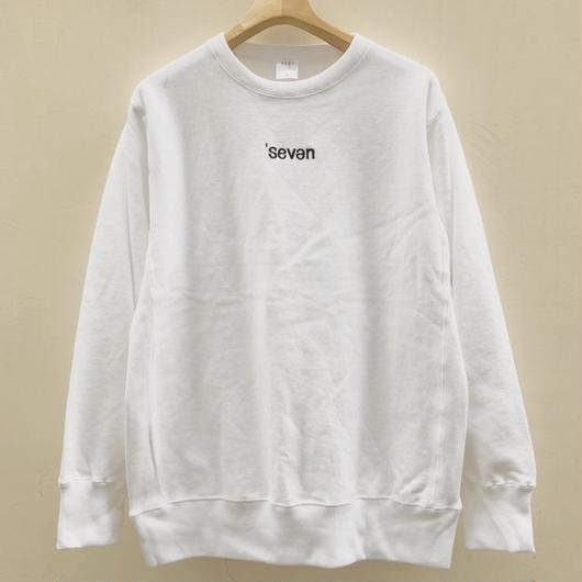 "Seven Shore Origin 【""Call"" Crew Sweat】"