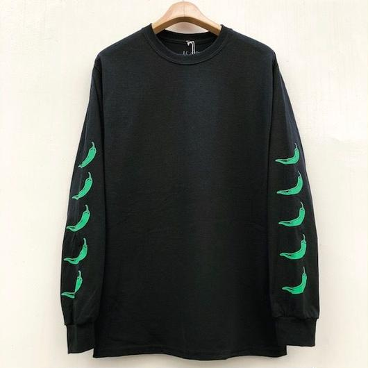 NAUGHTY【5 CHILI PEPPERS  L/S TEE LTD EDITION】