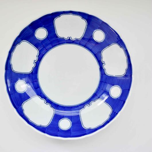 有田焼の五雲皿