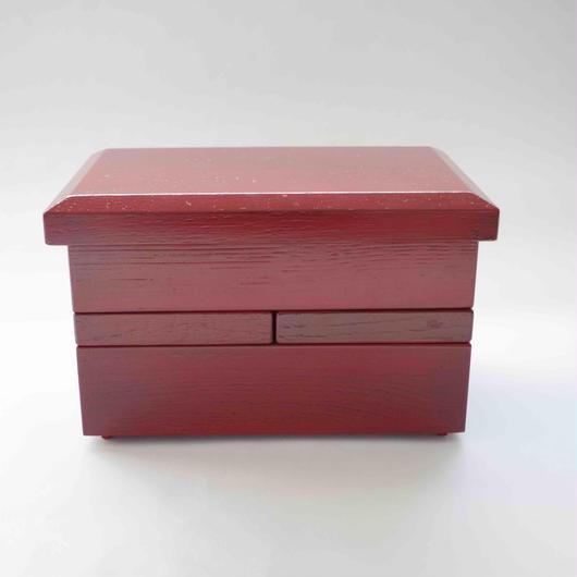 木曽漆器「ちきりや」の木目根来塗 おもてなし小重