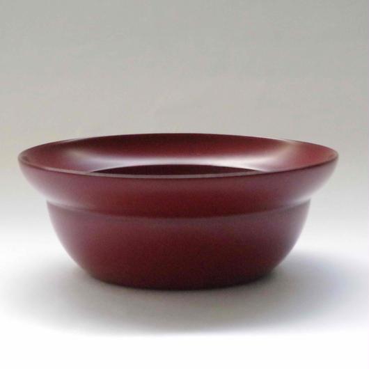 木曽漆器「ちきりや」の吟朱塗  雲上鉢  4寸