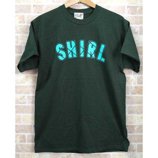 STITCH ARCH LOGO SS T-SHIRTS  (GREEN)(SH191213GRN)