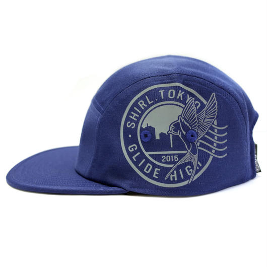 REFLECT STAMP COMFORT-5 CAP (BLUE) made in japan (SH170101BLU)