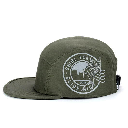STAMP COMFORT-5 CAP (OLIVE) made in japan (SH150101OLV)