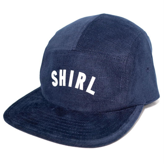 REFLECTOR ARCH LOGO SPRING CORDUROY COMFORT-5 CAP (NAVY) made in japan (SH170109NVY)