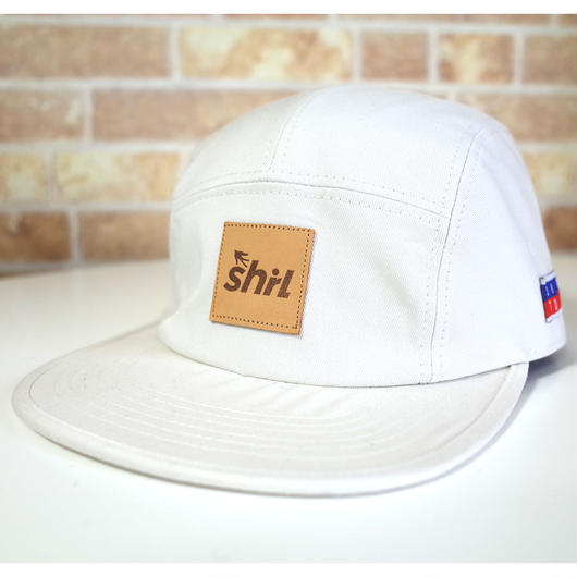 IVORY 5 PANEL CAP (IVORY) made in japan (SH190120IVY)