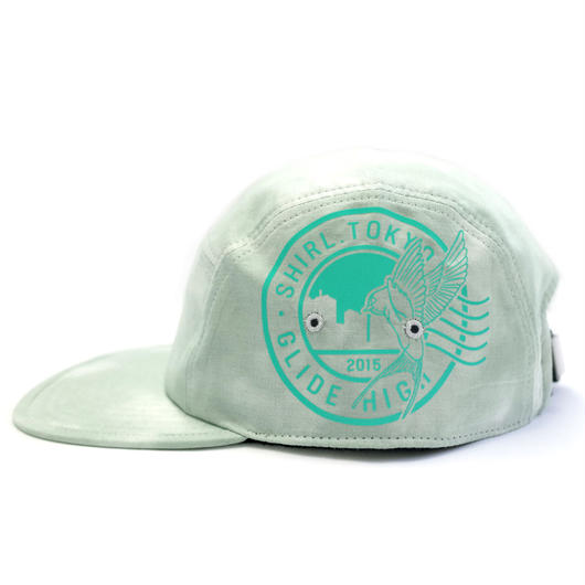 REFLECT STAMP COMFORT-5 CAP (LIGHT MOSS) made in japan (SH170101MOS)
