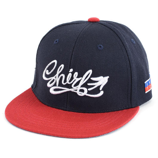 FREE FLY 3D SNAPBACK 6PANEL CAP (NV X RED)(SH160206NVR)