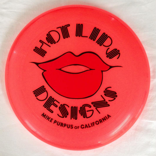 HOT LIPS DESIGNS フリスビー