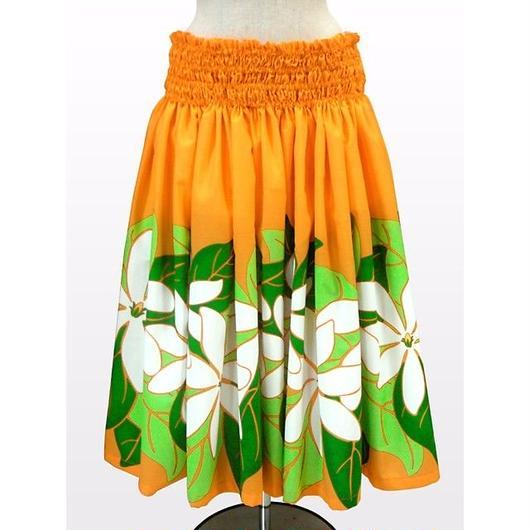 パウスカート フラダンス衣装 70cm/75cm丈 オレンジ PAUB0373