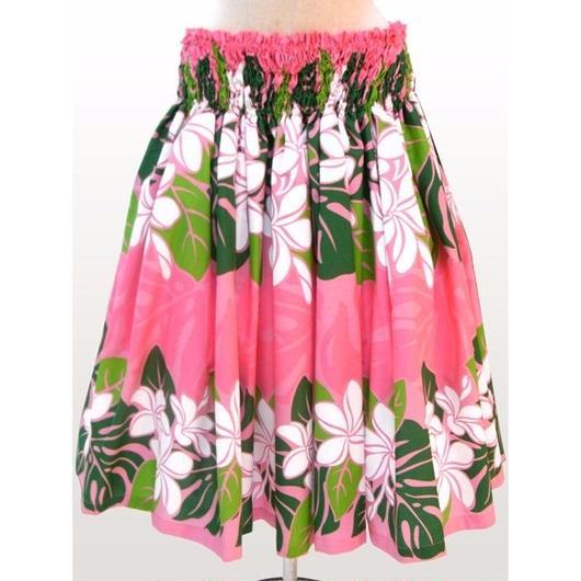 パウスカート フラダンス衣装 75cm丈 ピンク PAUB0451
