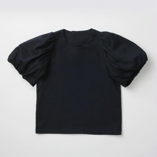 Noble/Navy パフスリーブシャツ