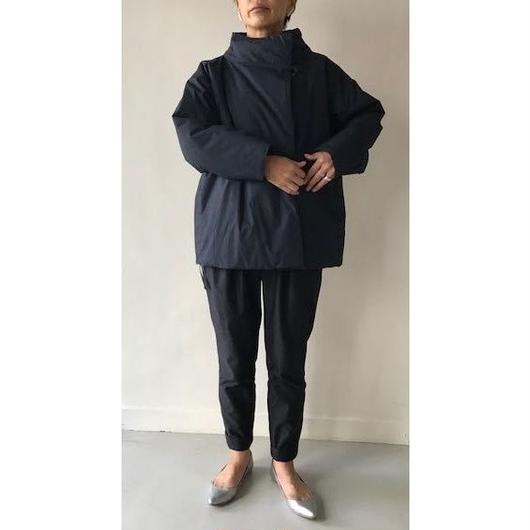 CHAW18-3818NK  COTTON DYED BROAD CLOTH PANEL & FLEARE COAT SHT