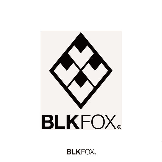 BLKFOX CUTTING STICKER 01/BLACK