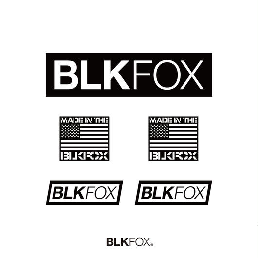 BLKFOX STICKER SET 01