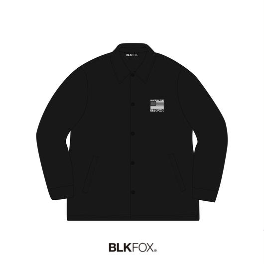 【受注販売】BLKFOX COACH JACKET 01 / BLACK
