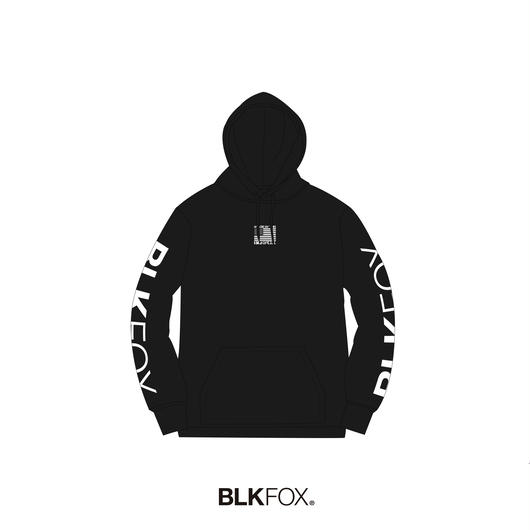 【受注販売】BLKFOX HOODIES 02 / BLACK x WHITE
