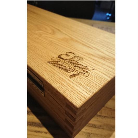 シングルブレード・オリジナルウッド製ボックス