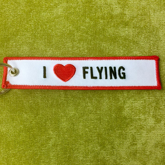 フライトタグ05【I♡FLYING / REMOVE BEFORE FLIGHT】