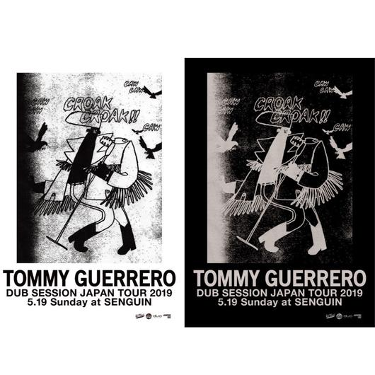 """TOMMY GUERRERO / """"DUB SESSION"""" JAPAN TOUR 2019[ペーパーTicket+イヴェントFlyer セット]"""