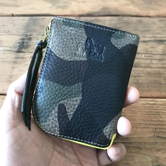 5656WORKINGS/L MOLD ITALY LEATHER WALLET_WLxLG