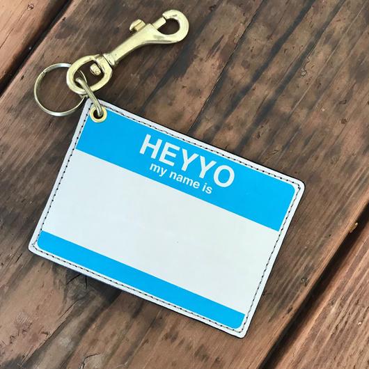 DFA/HEYYO! CARD CASE_BLUE