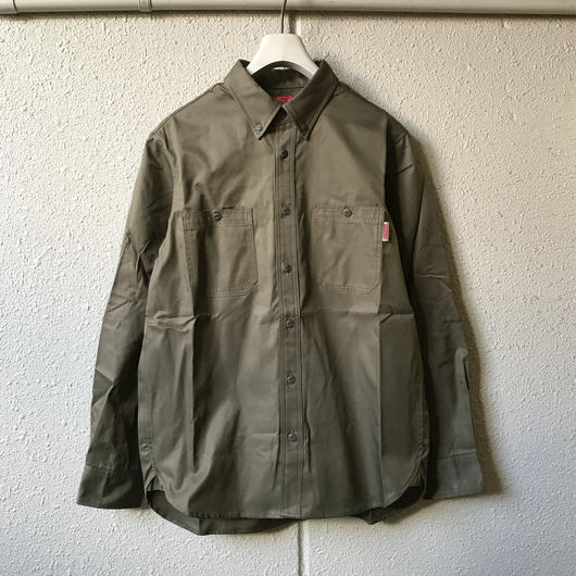 5656WORKINGS/W&B BD SHIRT_OLIVE